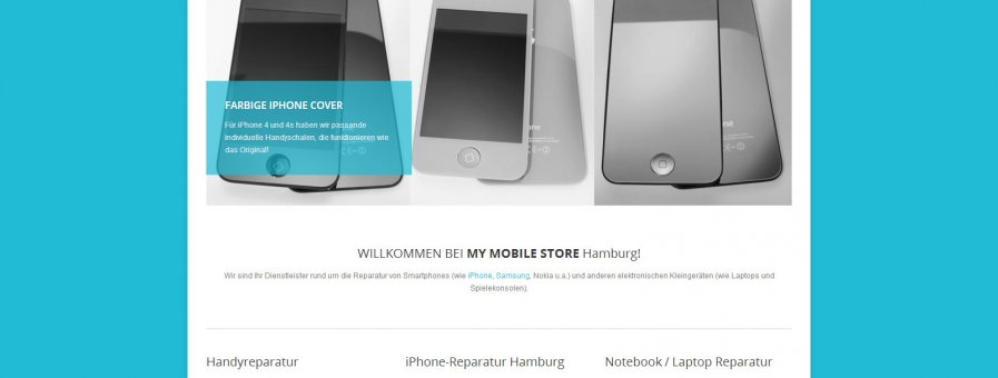 iPhone Reparatur in Hamburg -> My Mobile Store Hamburg